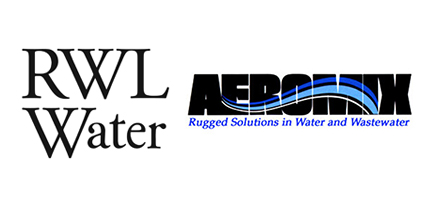 rwl water and aeromix logos