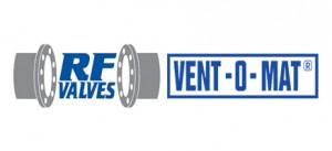 rf valve vent o mat logo